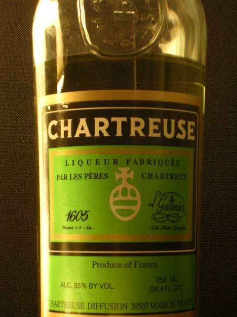 Chartreuse-bottle