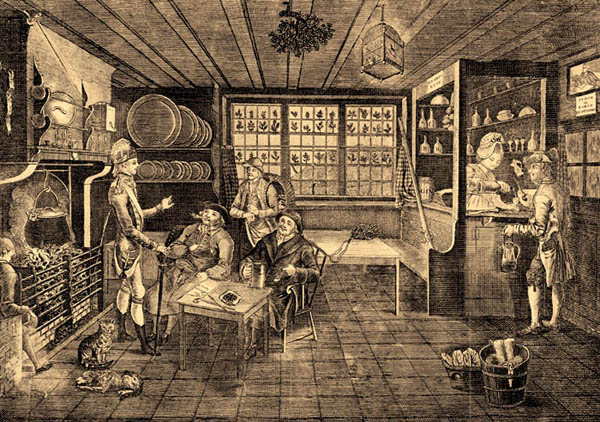early tavern scene