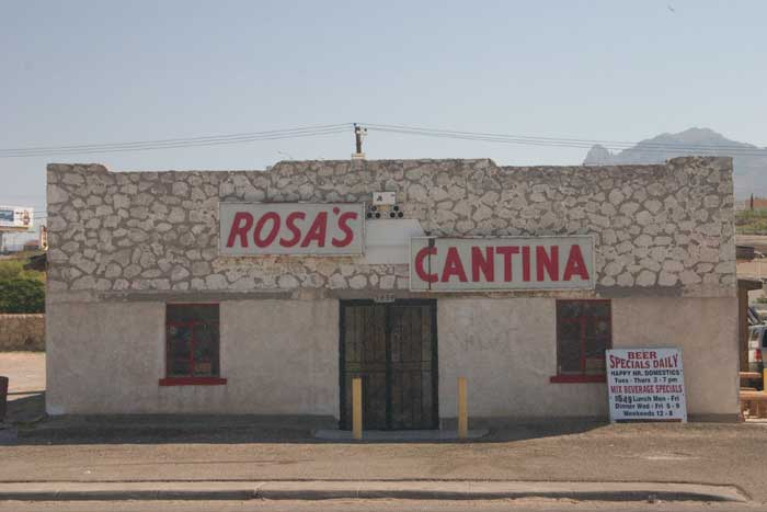 Rosa's Cantina - The Coolest Dive Bar in El Paso
