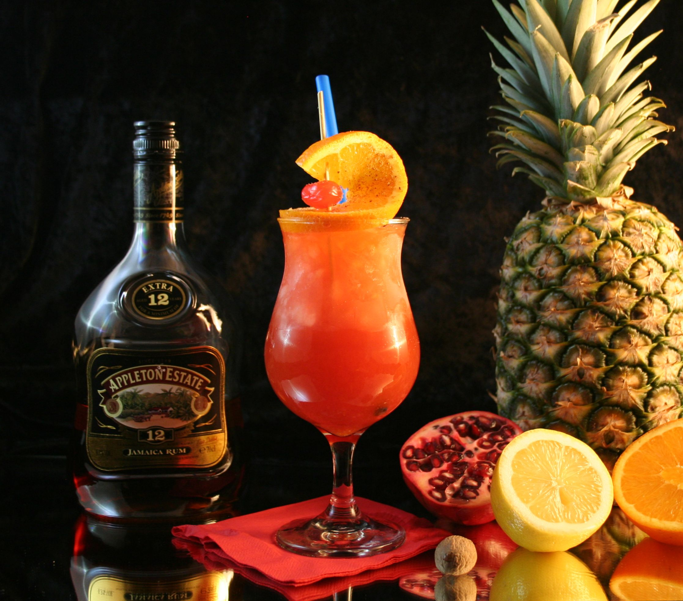 Rum Punch: A Drink Fit For A Country's Birthday