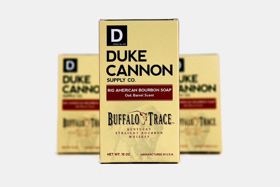 duke cannon bourbon soap fathers day bourbon gift