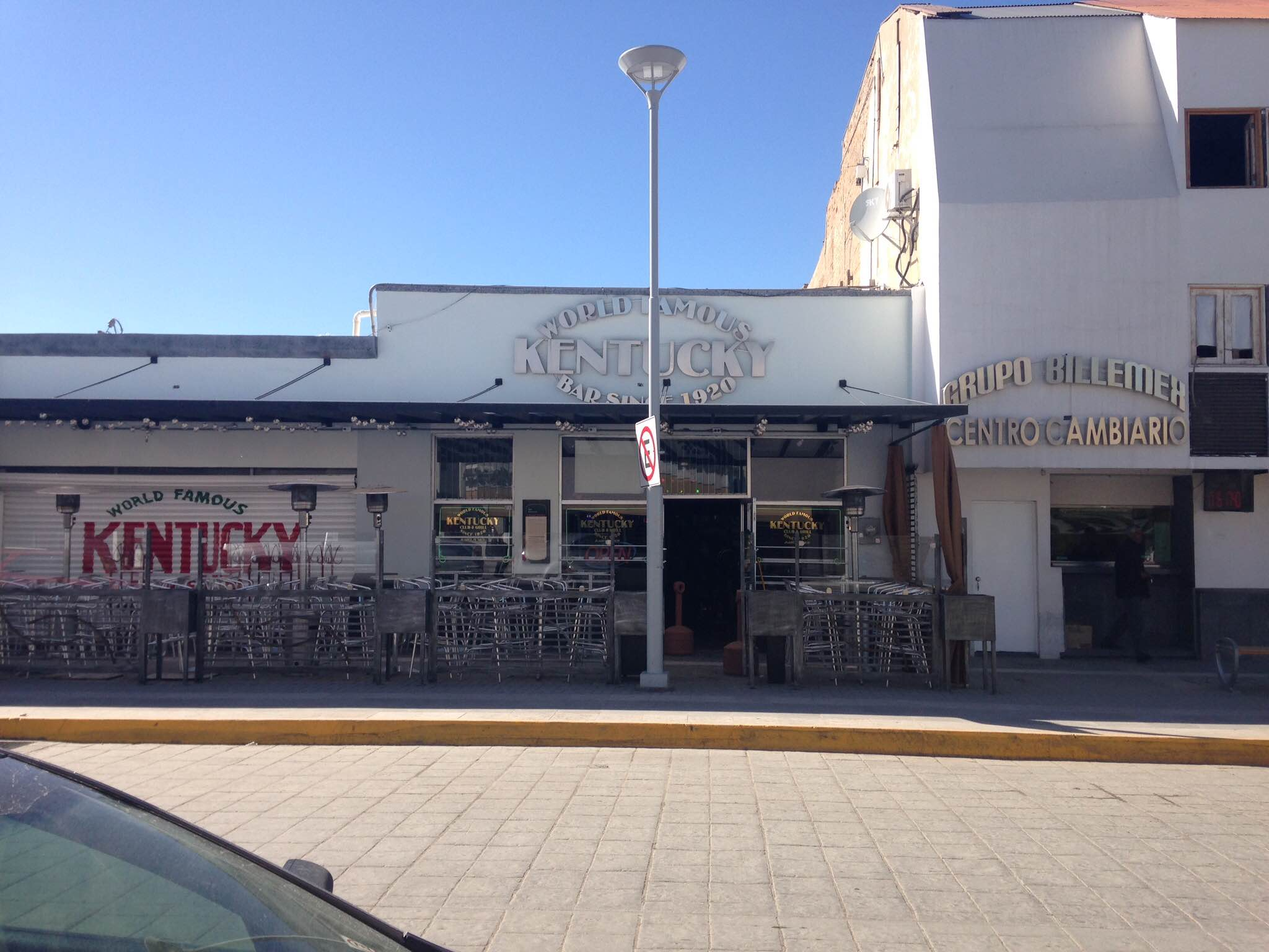 The World Famous Kentucky Club, Juarez, Mexico