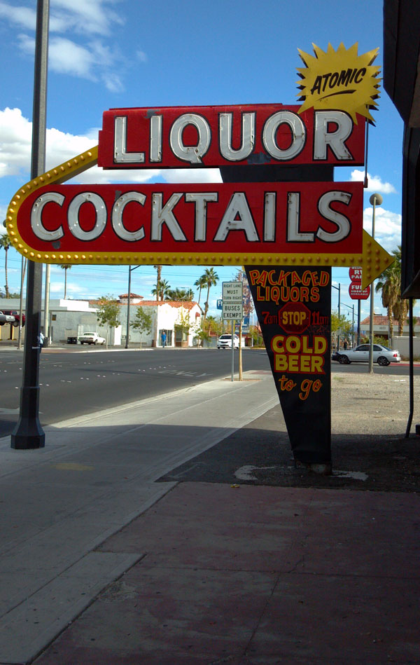 best bar in las vegas atomic liquors